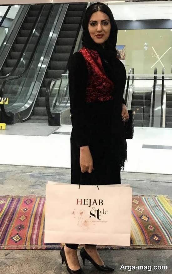 هلیا امامی در مزون مانتو