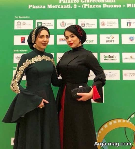 مدل لباس ملیکا شریفی نیا