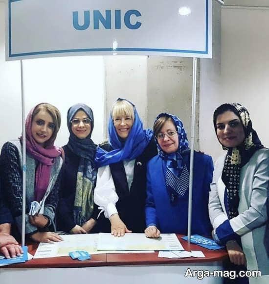 شبنم قلی خانی در سازمان ملل