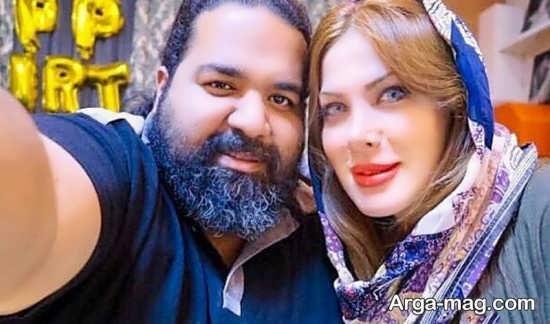 تولد همسر رضا صادقی