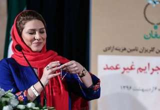 سحر دولتشاهی در جشن گلریزان زنان زندانی