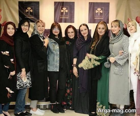 عکس بازیگران زن در سالن زیبایی