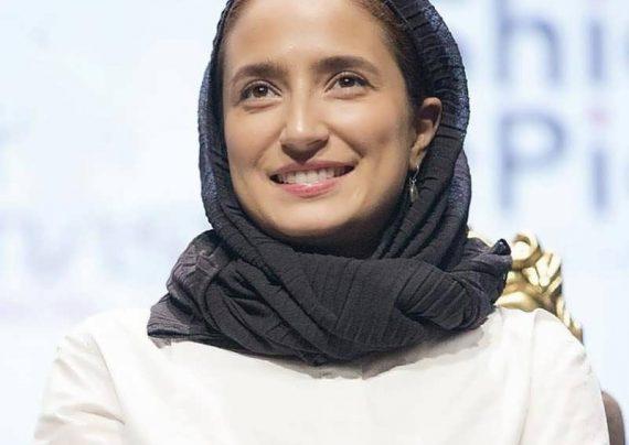 نگار جواهریان و همسرش در جشنواره سینه ایران