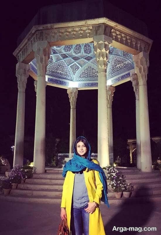 آزاده صمدی در شیراز