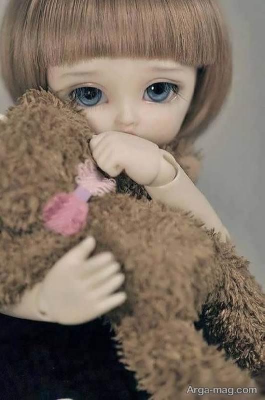 عروسک فانتزی چشم آبی