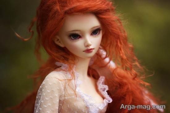 عروسک جذاب فانتزی مو قرمز