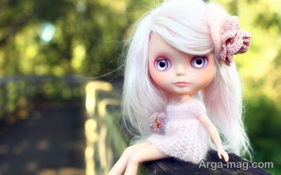 عروسک فانتزی مو بلوند