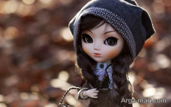 عروسک فانتزی با موی بافت