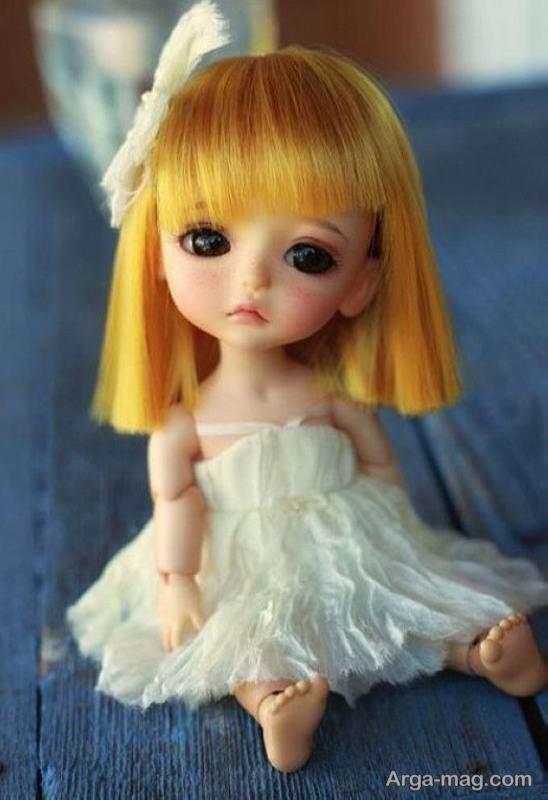 عروسک فانتزی مو طلایی