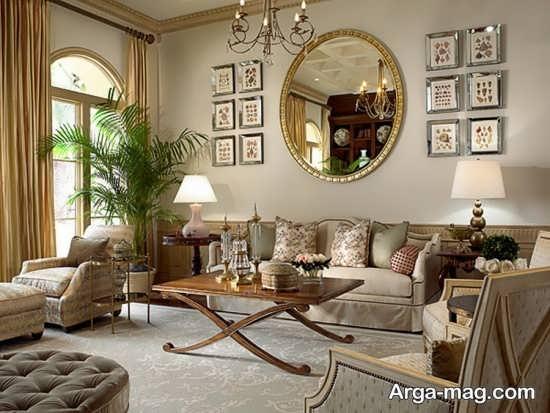 طراحی شیک فضای اتاق