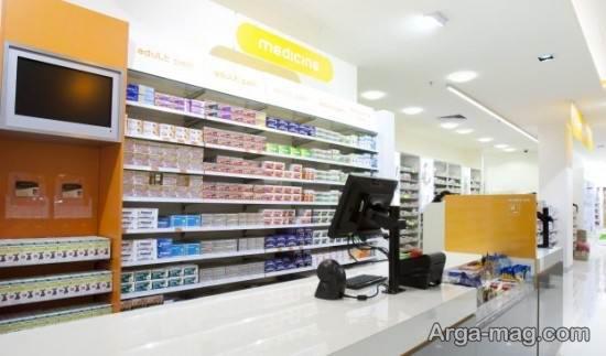 دکوراسیون داروخانه با متد جدید