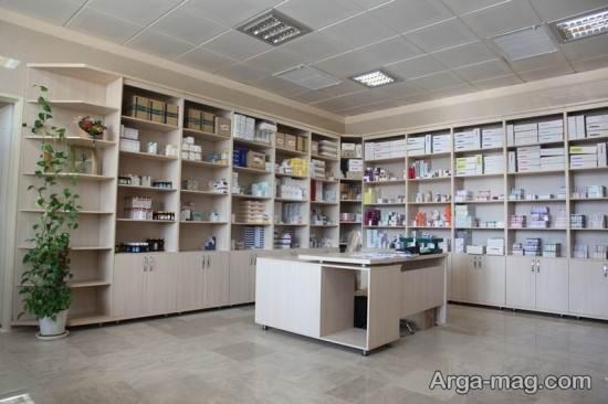 دکوراسیون داروخانه با متد روز دنیا