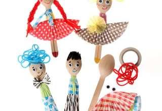 عروسک چوبی