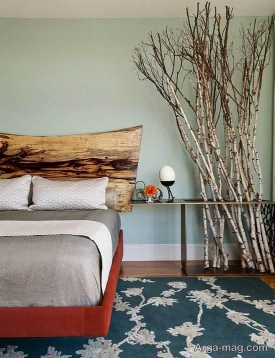 تزیین اتاق با شاخه درختان