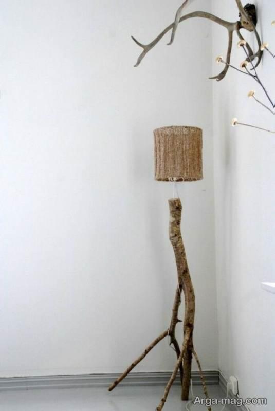 ساخت آباژور با شاخه درختان