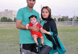 عکس همسر حسین ماهینی