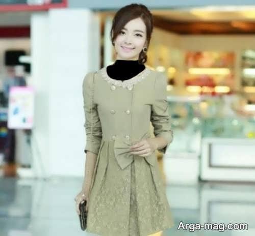 مدل مانتو عروسکی کره ای