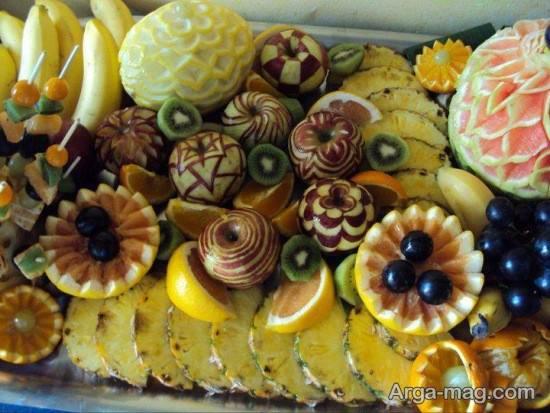 تزیینات زیبای میوه های شب یلدا