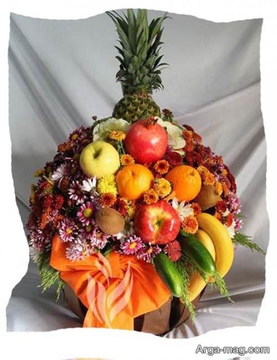 دیزاین میوه های شب یلدا برای عروس