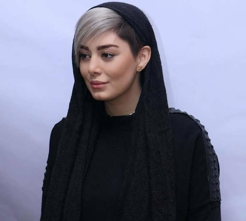 عکس کیک ماشین عکس های منتشر شده از رنگ موی جدید و مدل موی فشن سحر قریشی