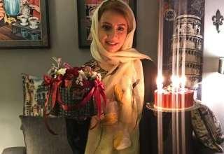 جشن تولد شبنم قلی خانی