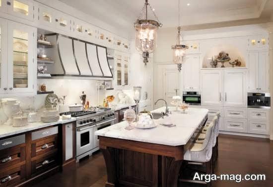 ایجاد فضای کافی در دکوراسیون آشپزخانه