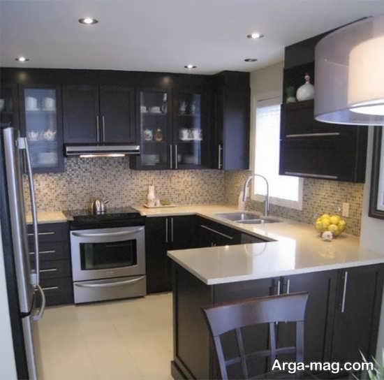 طراحی داخلی آشپزخانه به سبک مدرن
