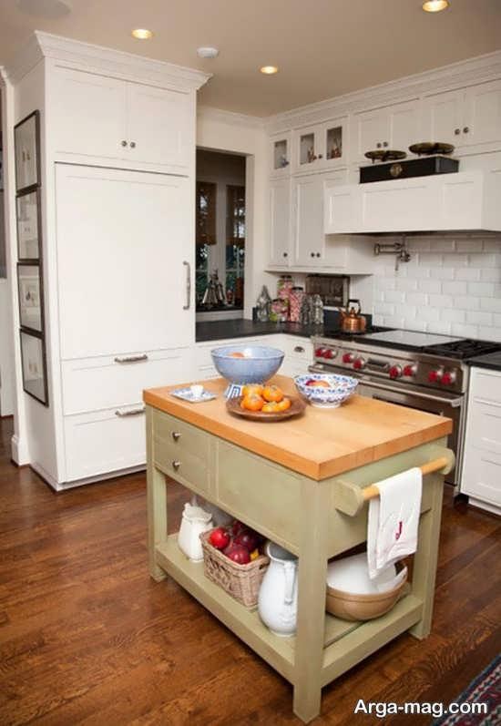 دکوراسیون آشپزخانه به سبک کلاسیک