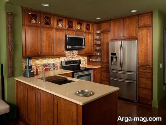 چیدمان آشپزخانه به سبک مدرن