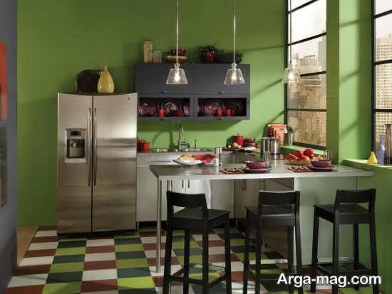 دکوراسیون آشپزخانه های کوچک به سبک مدرن
