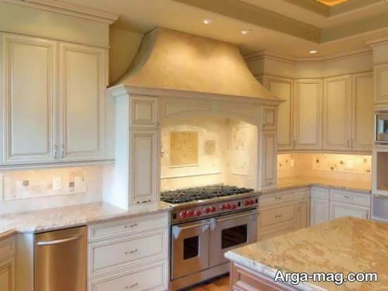 طراحی آشپزخانه به سبک سنتی