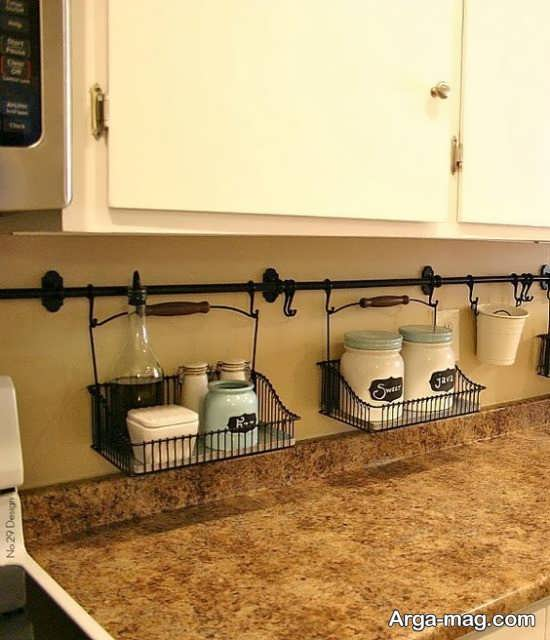 چیدمان جالب فضای داخلی آشپزخانه