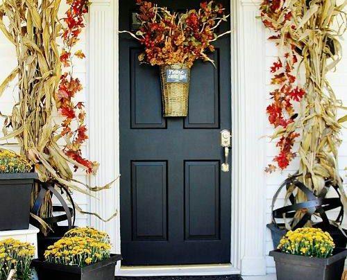 تزیین درب ورودی آپارتمان