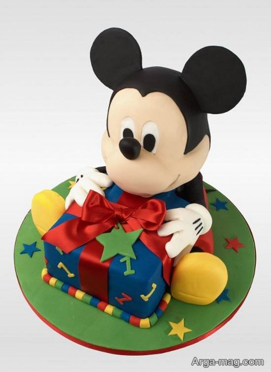 کیک تولد با طرح میکی موس