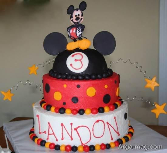 کیک تولد با تم میکی موس