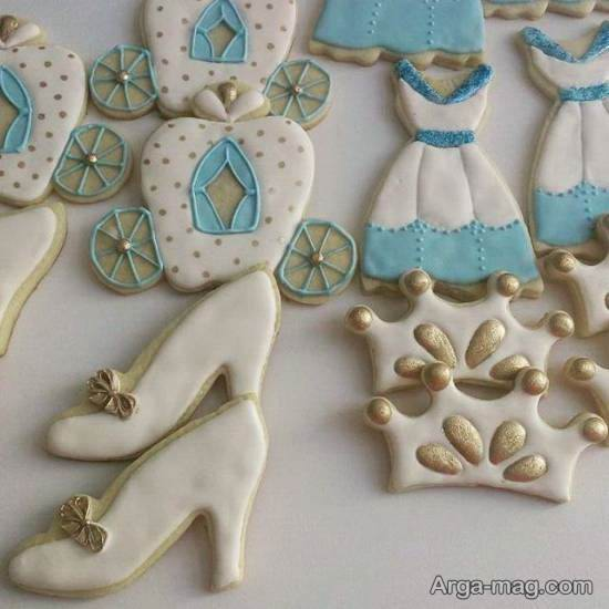 شیرینی برای تم تولد سیندرلا