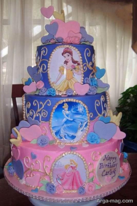 کیک تولد سیندرلا