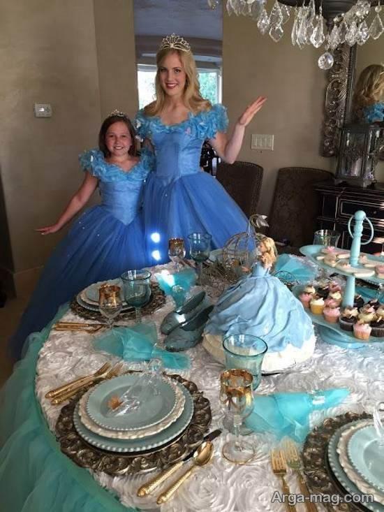 لباس پرنسسی سیندرلا
