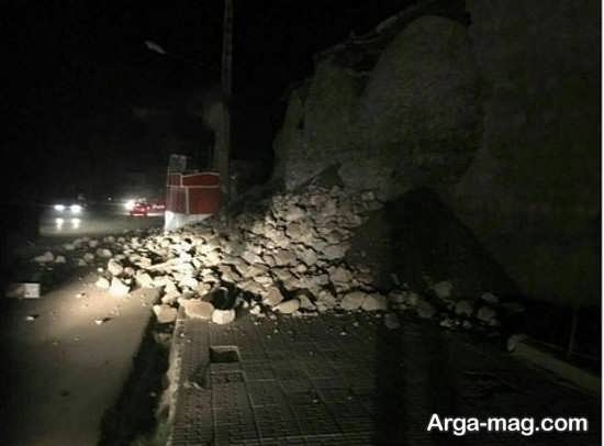 وضعیت زلزله زدگان