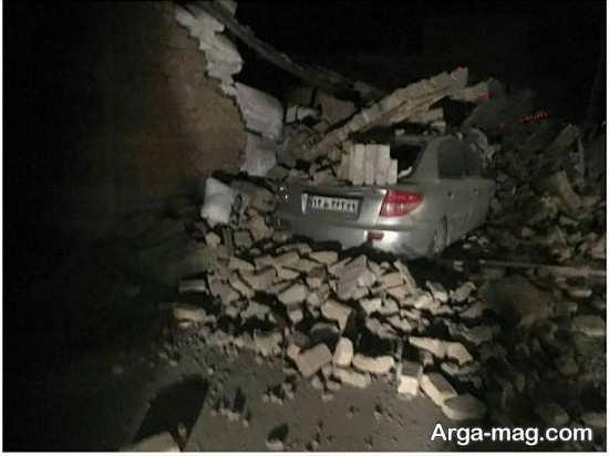 عکس زلزله در کرماشناه