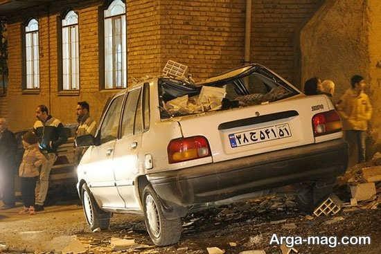 وضعیت زلزله زده گان کشور
