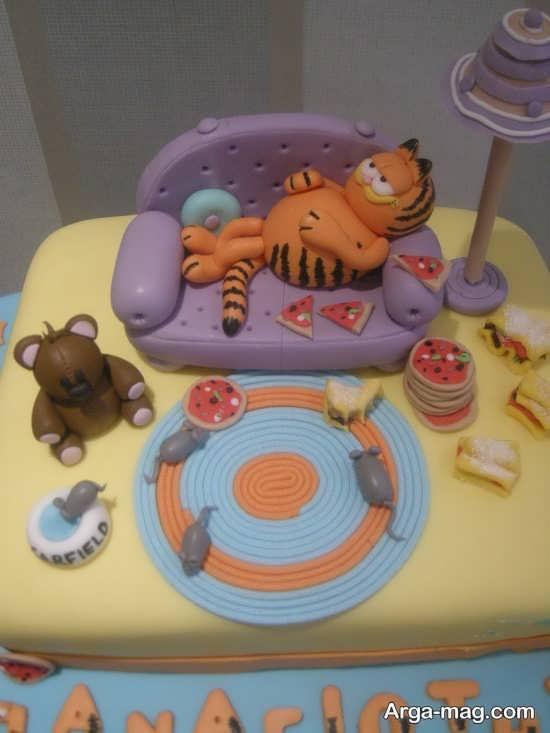 کیک با تم انیمیشن