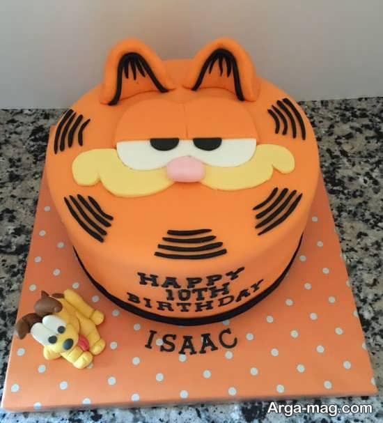 مدل جدید تزئین کیک تولد