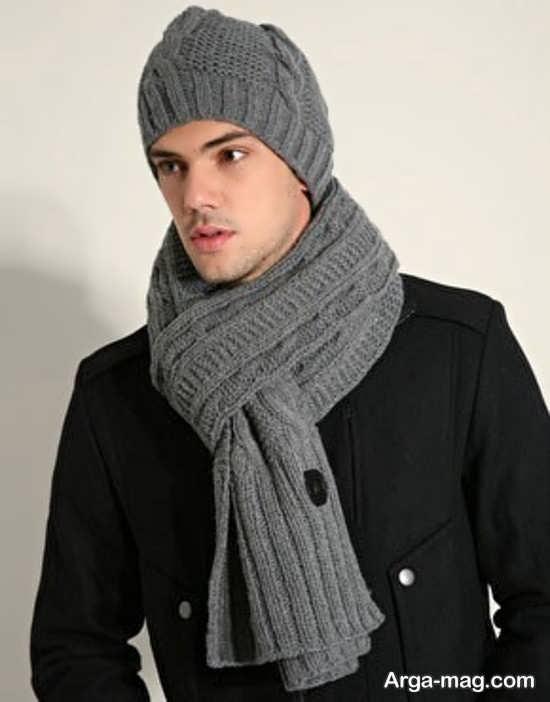 کلاه و شال زمستانی مردانه