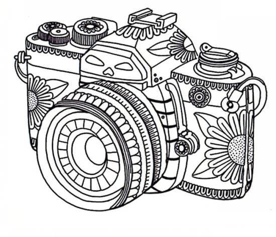 طرح رنگ آمیزی دوربین