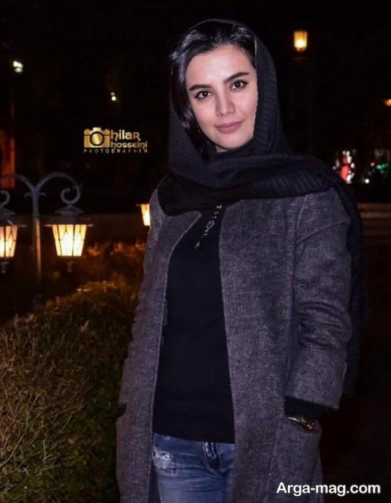 بیتا بیگی در افتتاحیه فیلم بیدار شو آرزو