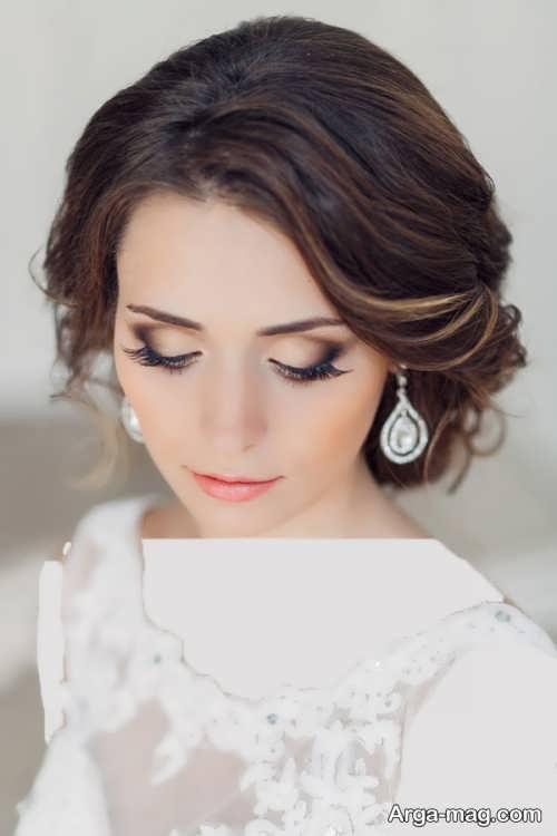 مدل آرایش صورت زیبا و شیک عروس