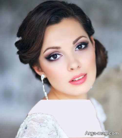 مدل آرایش صورت عروس