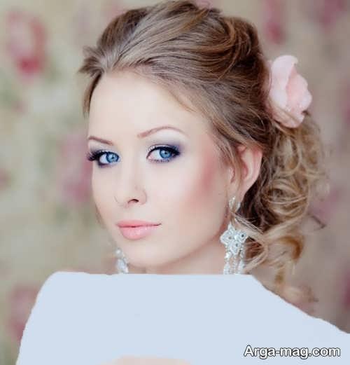 مدل میکاپ لایت عروس