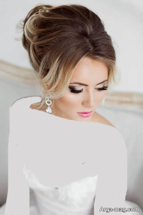 مدل آرایش صورت زیبا و شیک برای عروس